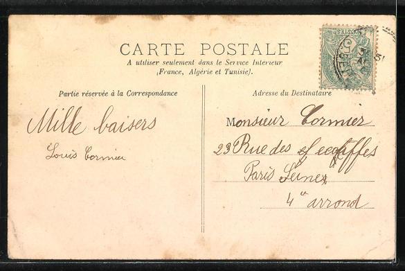 AK Vert, Chateau des Buissons 1