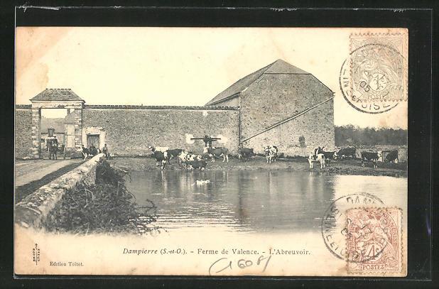 AK Dampierre, Ferme de Valence, L'Abreuvoir 0