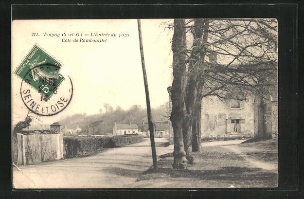 AK Poigny, L'Entree du pays Cote de Rambouillet 0