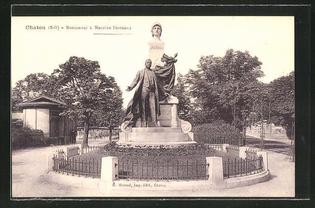 AK Chatou, Monument a Mauricee Berteaux 0