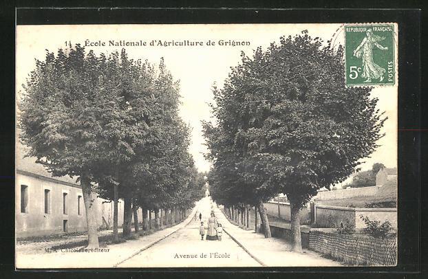 AK Grignon, Ecole nationale d'Agriculture, Avenue de l'Ecole 0