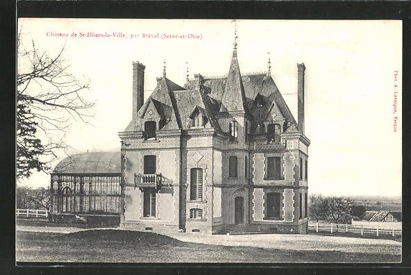 AK Saint-Illiers-la-Ville, Chateau