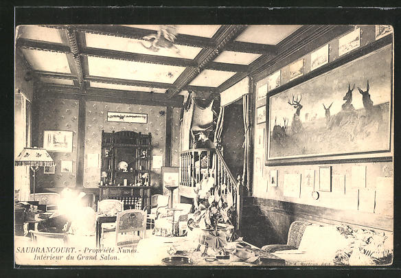 AK Saudrancourt, Propriete Nunes, Interieur du Grand Salon 0