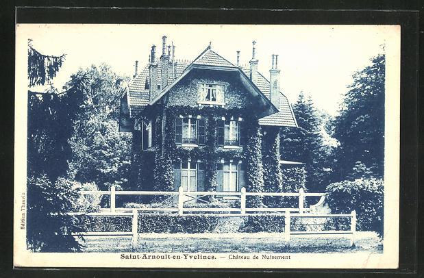 AK Saint-Arnoult-en-Yvelines, Chateau de Nuisement 0