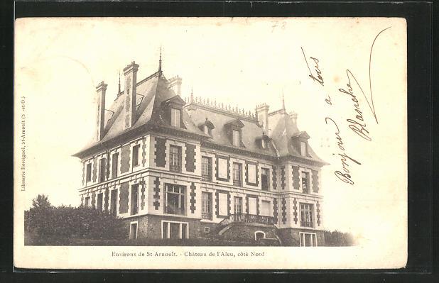AK Saint-Arnoult, Chateau de l'Aleu, cote Nord 0