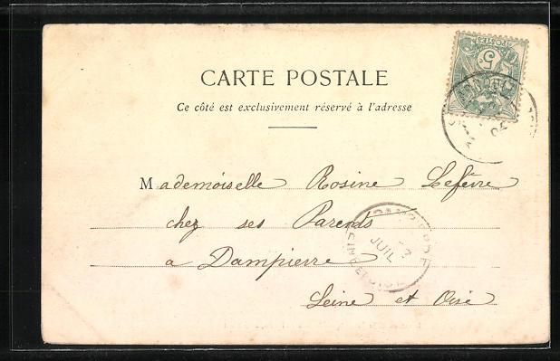 AK Saint-Arnoult, Chateau de l'Aleu, cote Nord 1