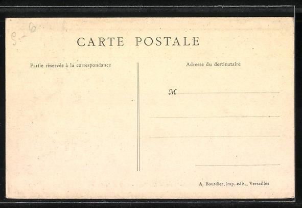 AK Neauphle-le-Chateau, L'Abbaye, Cote de la Cour 1