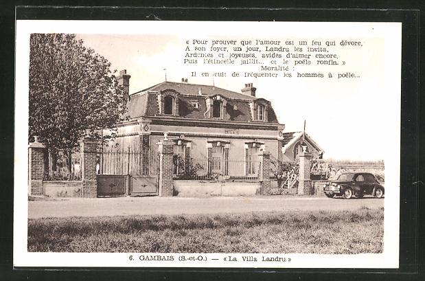 AK Gambais, La Villa Landru 0