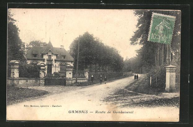 AK Gambais, Route de Gambaiseuil 0