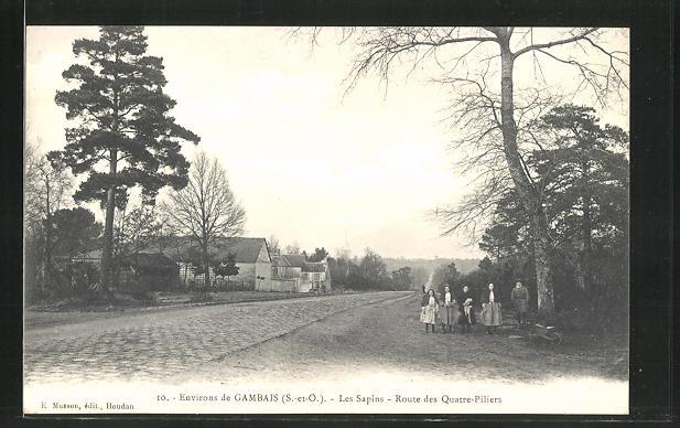 AK Gambais, Les Sapins, Route des Quatre-Piliers