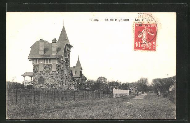 AK Poissy, Ile de Migneaux, Les Villas 0