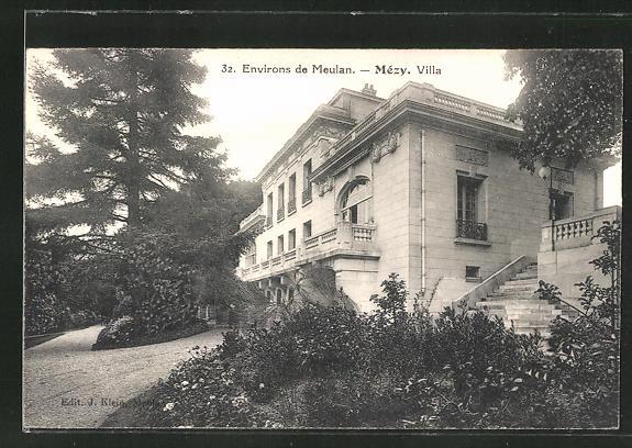 AK Mezy, Villa, Gebäudeansicht 0