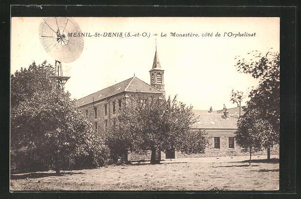 AK Mesnil-St-Denis, Le Monastre, cote de l'Orphelinat