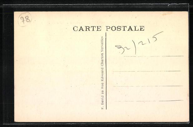 AK Mesnil-St-Denis, Le Monastre, cote de l'Orphelinat 1