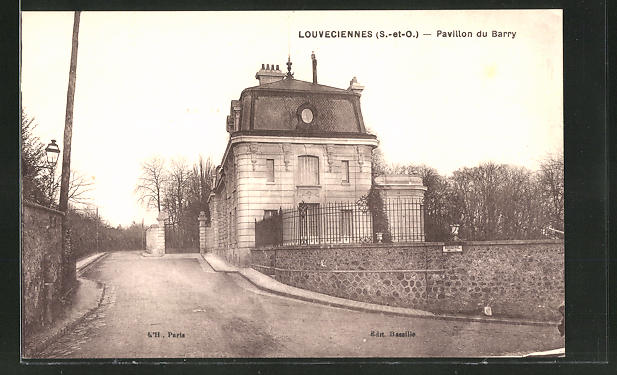 AK Louveciennes, Pavillon du Barry