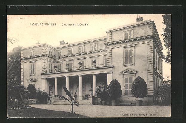 AK Louveciennes, Chateau de Voisin 0