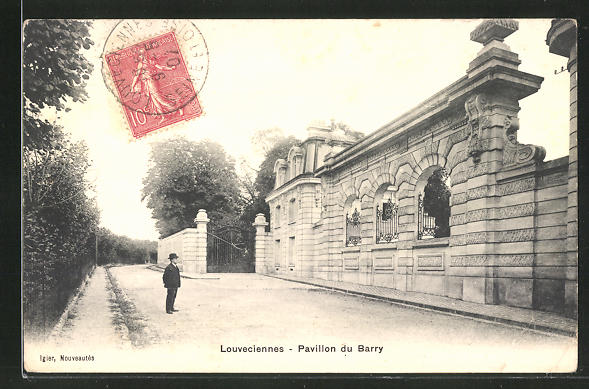 AK Louveciennes, Pavillon du Barry 0