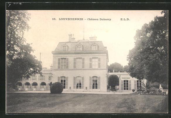 AK Louveciennes, Chateau Dubarry