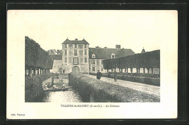 AK Villiers-le-Mahieu, Le Chateau 0