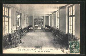 AK Saint-Germain-en-Laye, Villa Scolaire du VII Arrondissement de Paris, le Preau et le Refectoire
