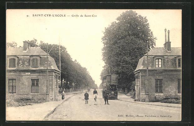 AK Saint-Cyr-l'Ecole, Grille de Saint-Cyr 0
