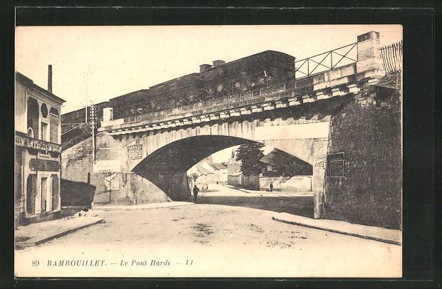 AK Rambouillet, Le Pont Hardi 0