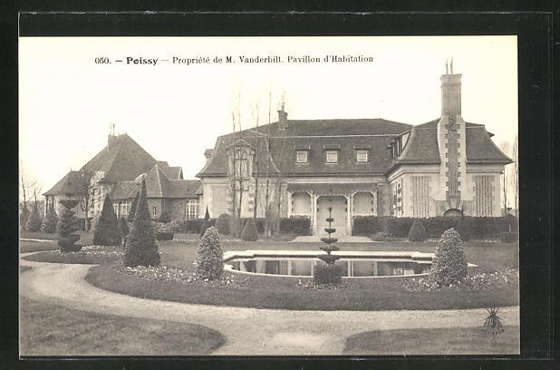 AK Poissy, Propriete de M. Vanderbilt, Pavillon d'Habitation 0