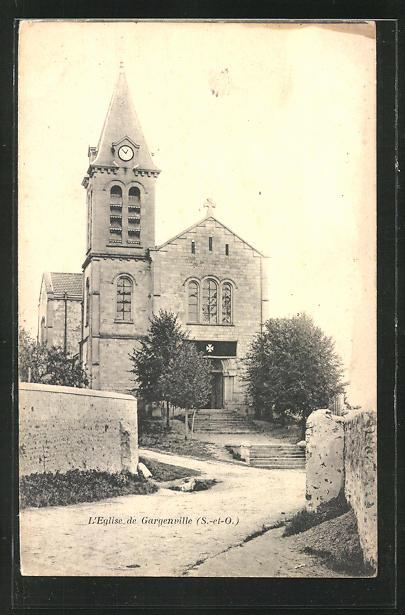 AK Gargenville, L'Eglise 0