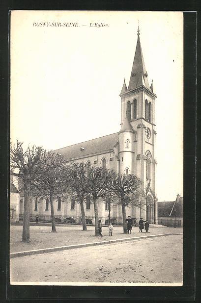 AK Rosny-sur-Seine, L'Eglise 0
