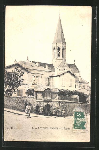 AK Louveciennes, L'Eglise 0
