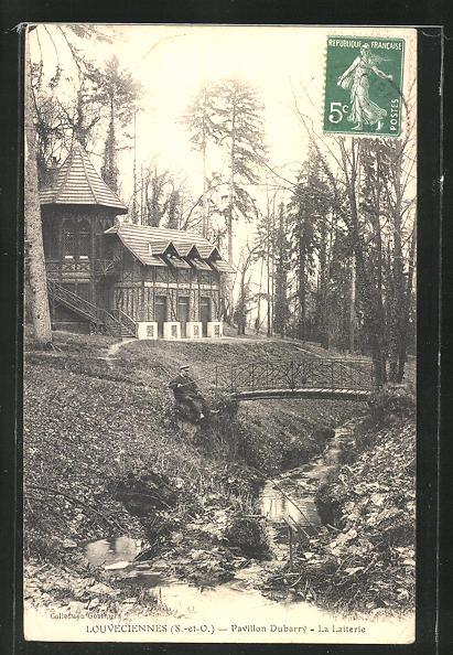 AK Louveciennes, Pavillon Dubarry, La Laiterie