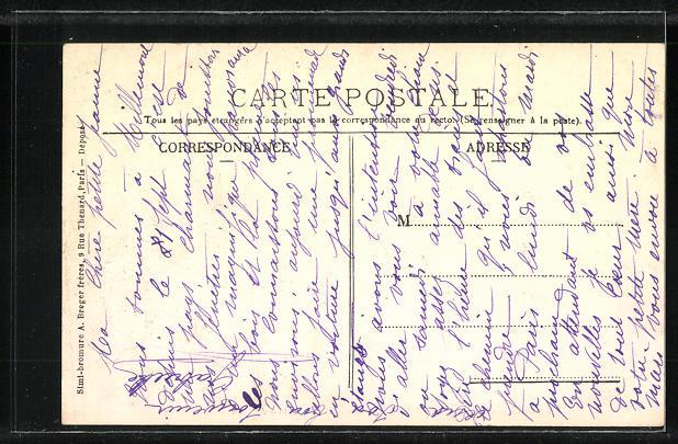 AK La Queue-lez-Yvelines, L'Ancien Telegraphe Aerien, XVIIe siecle 1