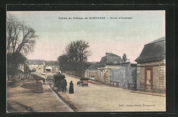 AK Dampierre, Entree du Chateau, Grille d'Honneur 0
