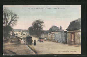 AK Dampierre, Entree du Chateau, Grille d'Honneur