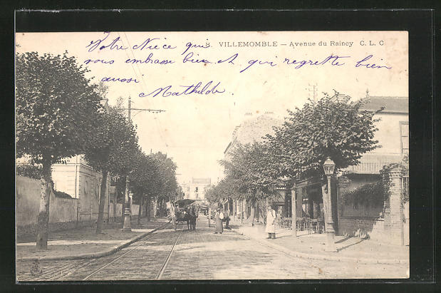 AK Villemomble, Avenue du Rainey