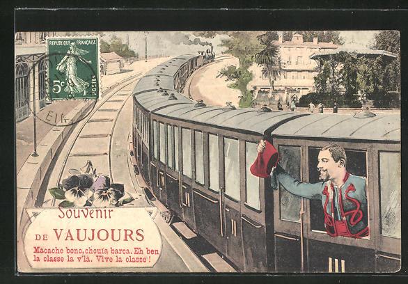 AK Vaujours, Macache bono, chouia barca, Eisenbahn 0