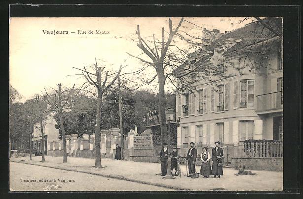 AK Vaujours, Rue de Meaux 0