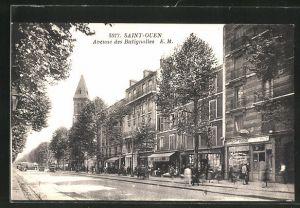 AK Saint Ouen, Avenue des Batignolles