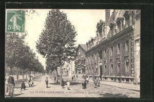 AK La Plaine Saint-Denis, Le Chateau la Maison Norat