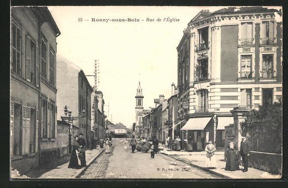 AK Rosny-sous-Bois, Rue de l'Eglise 0