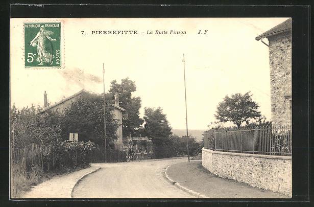 AK Pierrefitte, La Butte Pinson