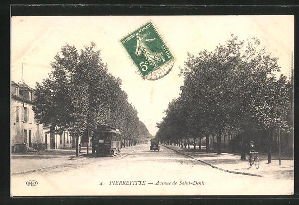 AK Pierrefitte, Avenue de Saint-Denis 0