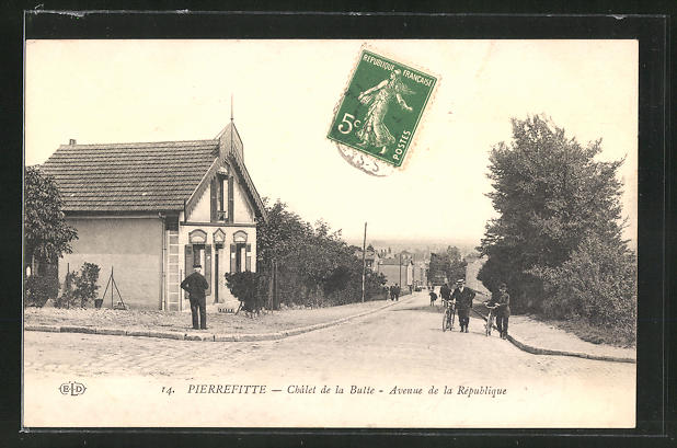 AK Pierrefitte, Chalet de la Butte, Avenue de la Republique
