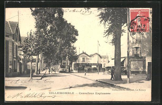 AK Villemomble, Restaurant dans Carrefour Espinasse 0