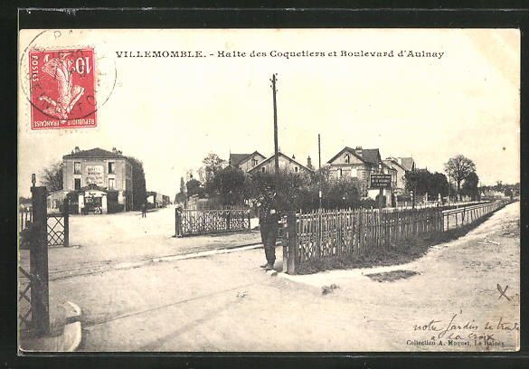 AK Villemomble, Halte des Coquetiers et Boulevard d'Aulnay
