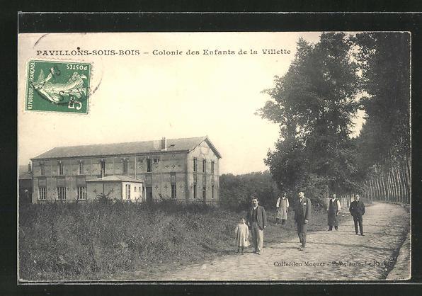 AK Pavillons-sous-Bois, Colonie des Enfants de la Villette
