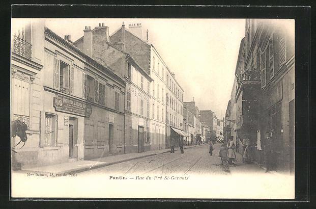 AK Pantin, Rue du Pre St-Gervais