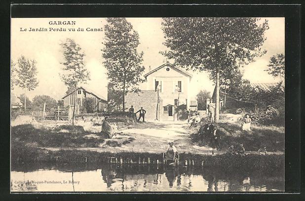 AK Gargan, Le Jardin Perdu vu du Canal 0