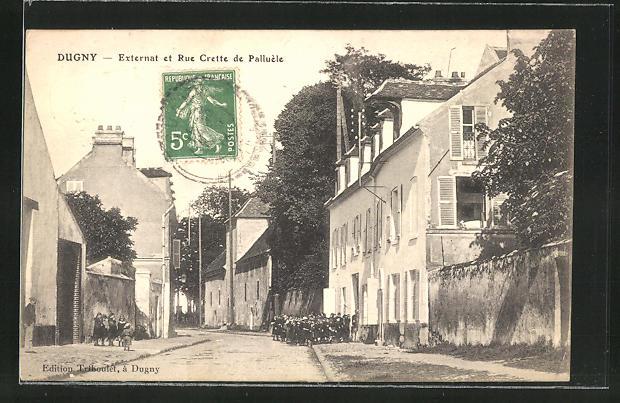AK Dugny, Externat et Rue Crette de Palluele