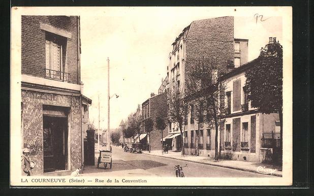 AK La Courneuve, Rue de la Convention 0
